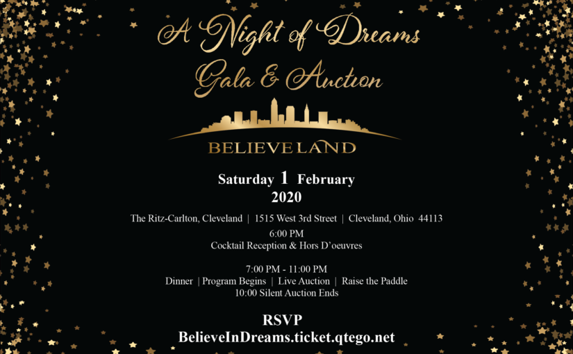 A Night of Dreams Gala & Auction